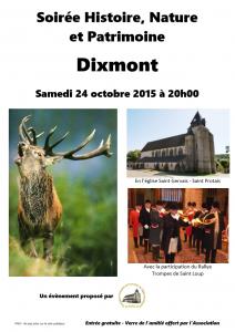 Soirée Histoire, Nature et Patrimoine @ Eglise Saint Gervais-Saint Protais de Dixmont | Dixmont | Bourgogne | France