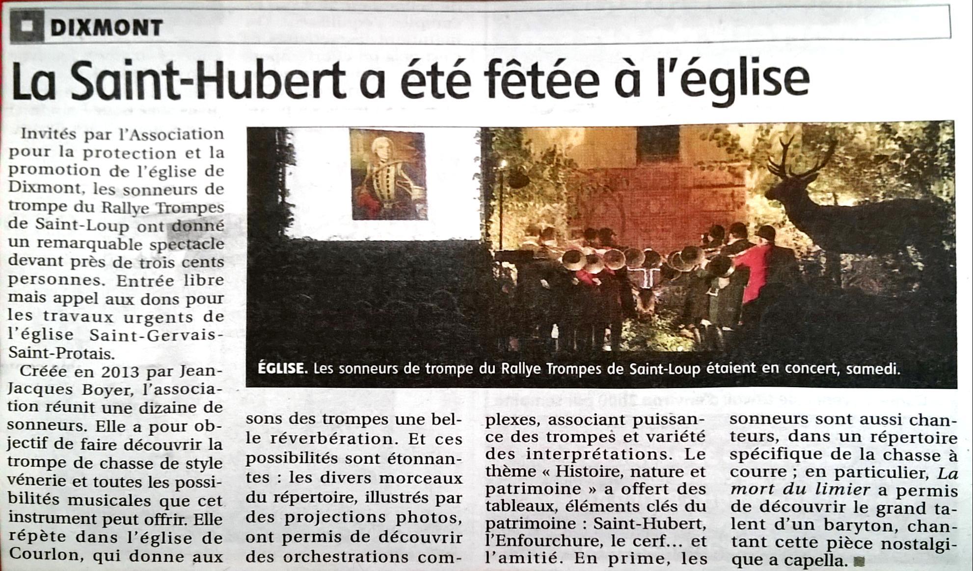 Yonne Républicaine 26/10/2015