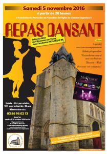 Repas Dansant @ Salle Polyvalente | Villeneuve-sur-Yonne | Bourgogne | France
