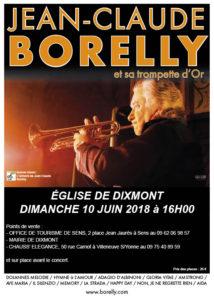 Jean-Claude Borelly et sa trompette d'Or @ Eglise de Dixmont